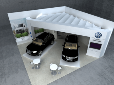 VW exponor 2013 3d